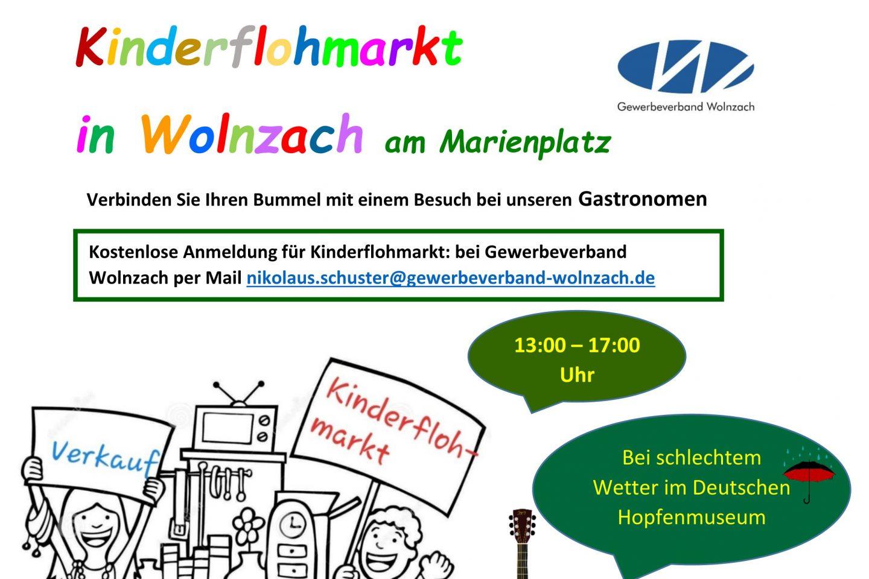 Plakat Kinderflohmarkt