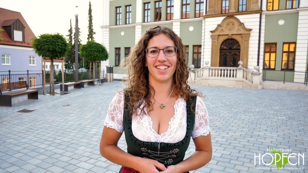 Theresa Hagl, Kandidatin Hopfenkönigin 2019