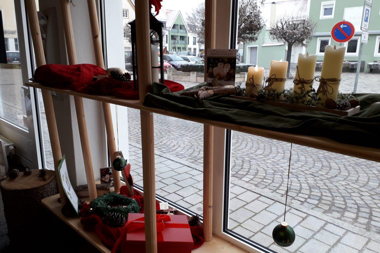 Schaufenster Advent
