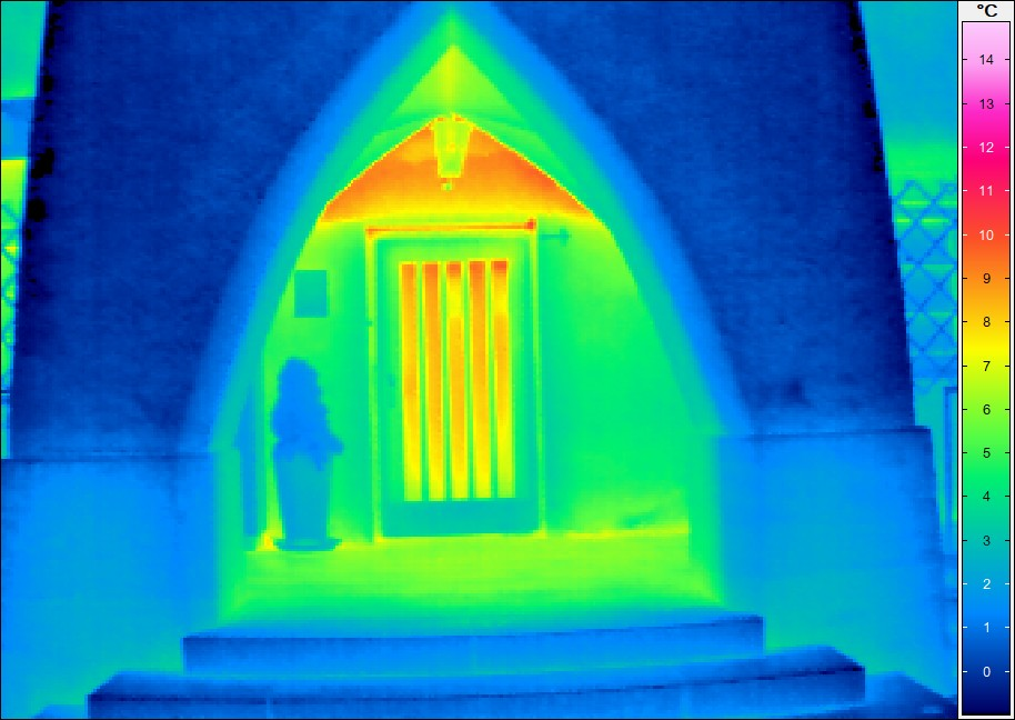 Thermografie bei Gebäuden